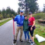 Spokane Valley Kiwanis Centennial Trail Volunteers