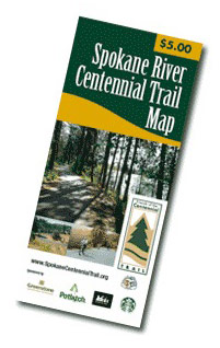 Printed Centennial Trail Map